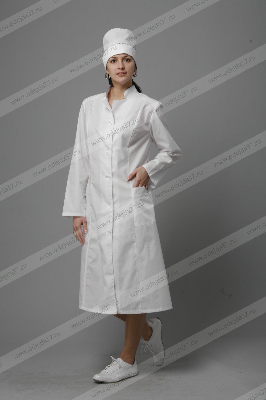 Увеличить - Халат медицинский  женский №177