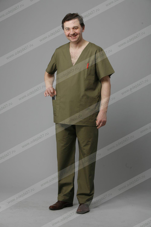 Увеличить - Костюм мужской хирургический