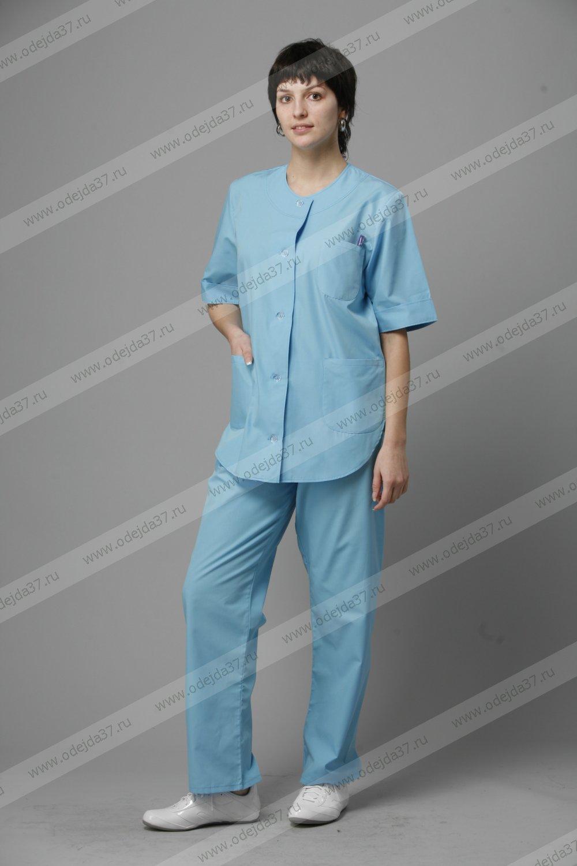 Увеличить - Костюм  женский медицинский Кж-33 №140