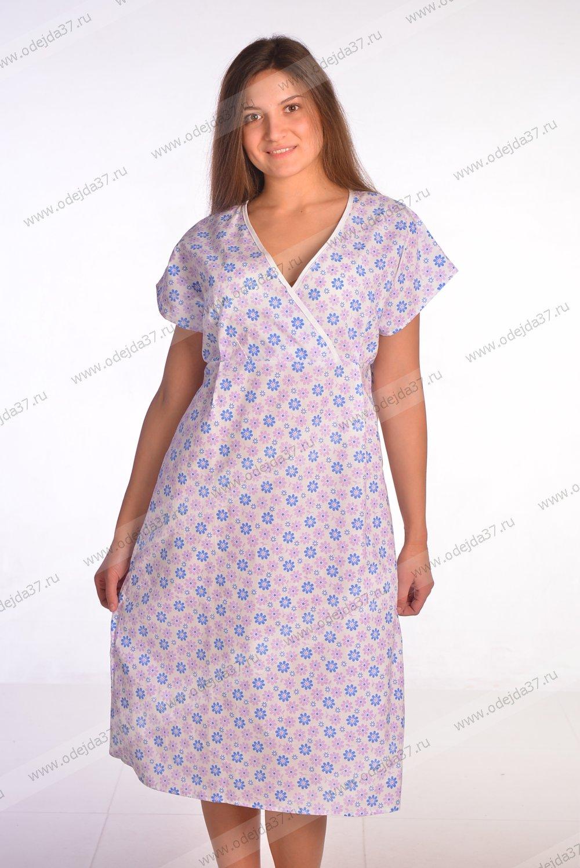 Увеличить - Сорочка женская для рожениц №122
