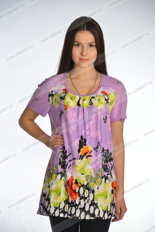 Увеличить - Блуза женская 06-24 (вискоза)