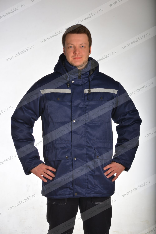 Увеличить - Куртка утепленная  мужская