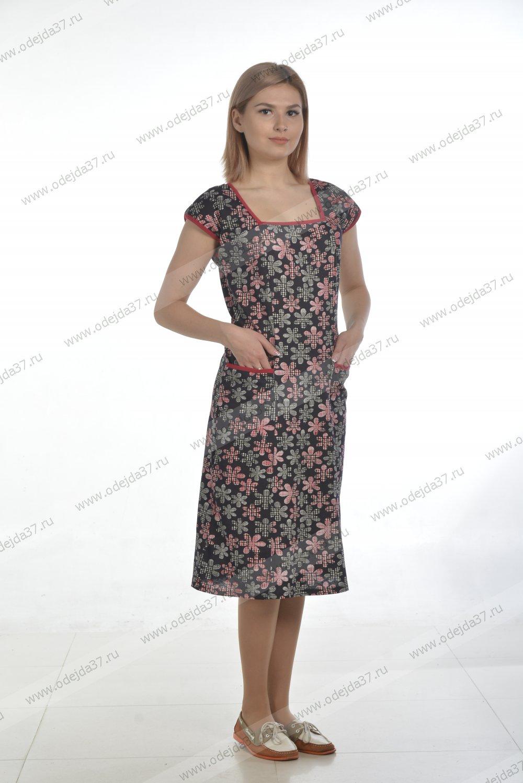 Увеличить - Платье женское 01-19(кулирка) №397