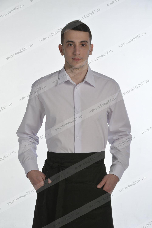 Увеличить - Рубашка мужская официанта (тиси)