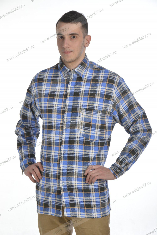 Увеличить - Рубашка мужская (фланель)19.1 №376
