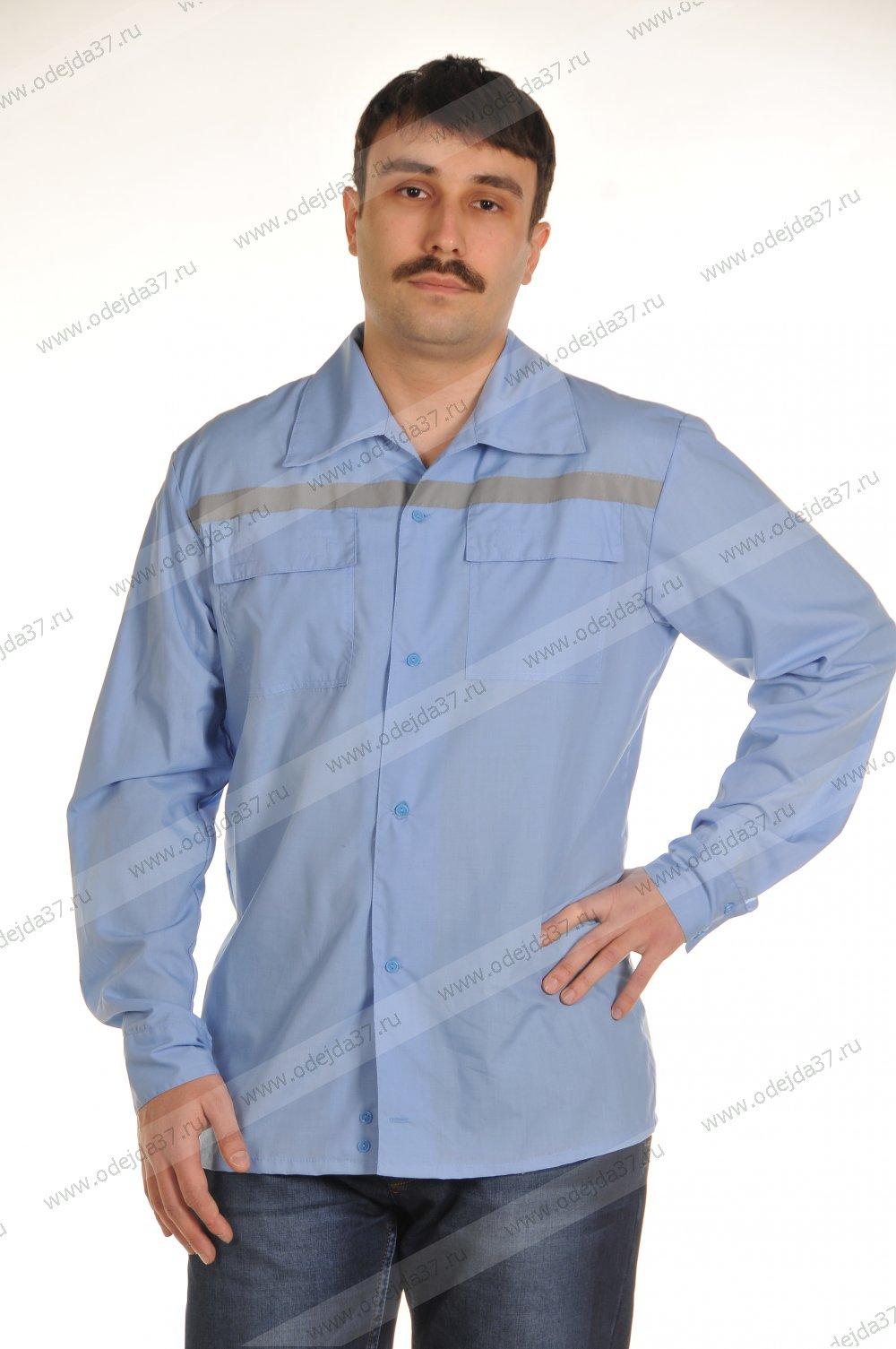 Увеличить - Рубашка мужская для скорой помощи №226