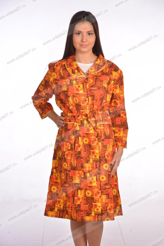 Увеличить - Платье женское (фланель)