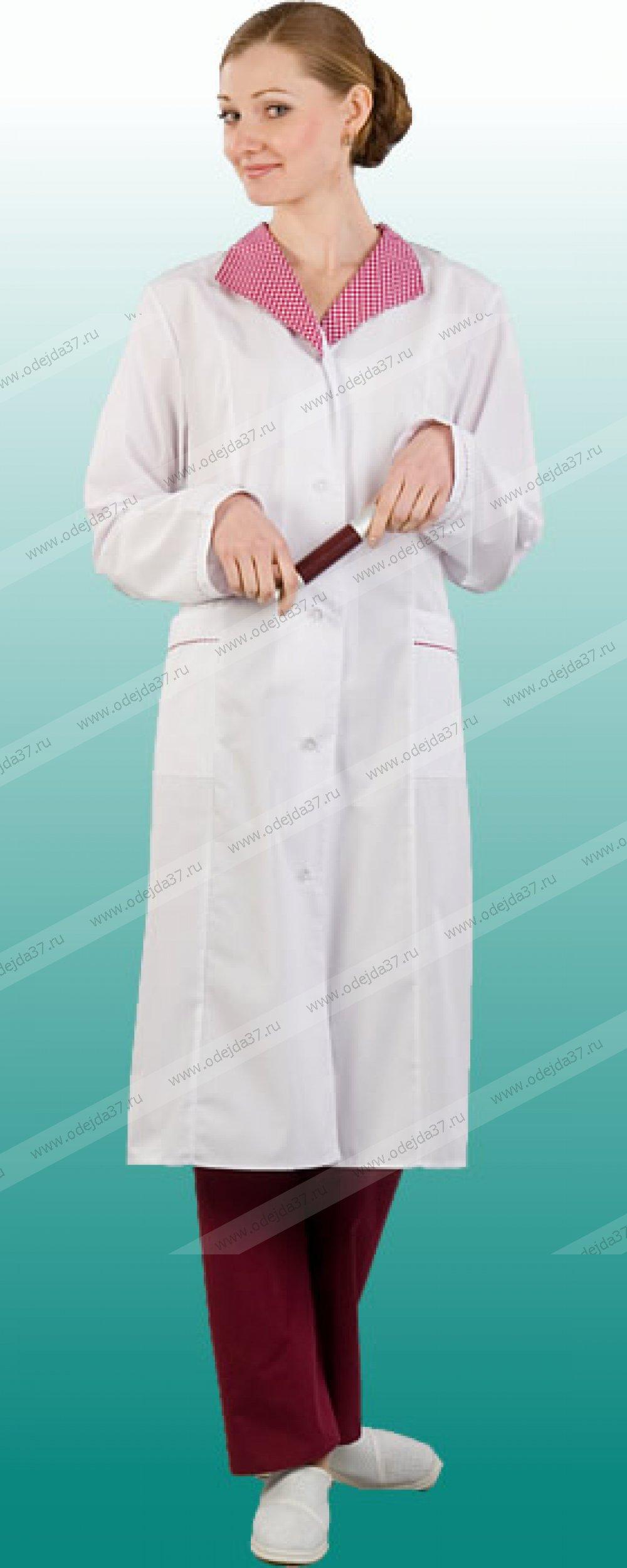 Увеличить - Халат медицинский женский   №242