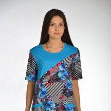 Платье 01-09 (кулирка набивная)