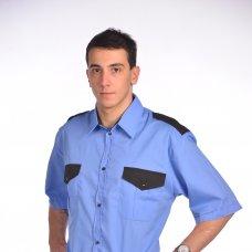Рубашка мужская Охранник с коротким рукавом