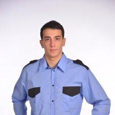 Рубашка мужская Охранник с длинным рукавом